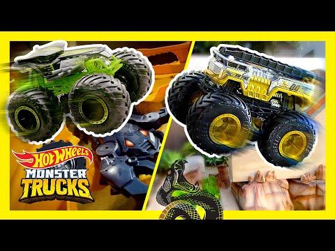 SNAKES, & SCORPIONS: ULTIMATE MONSTER TRUCKS TOURNAMENT! | Monster Trucks | @Hot Wheels