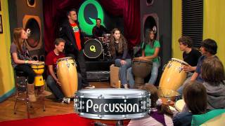 """The Percussion Family"" Episode #19 Preview - Quaver's Marvelous World of Music"