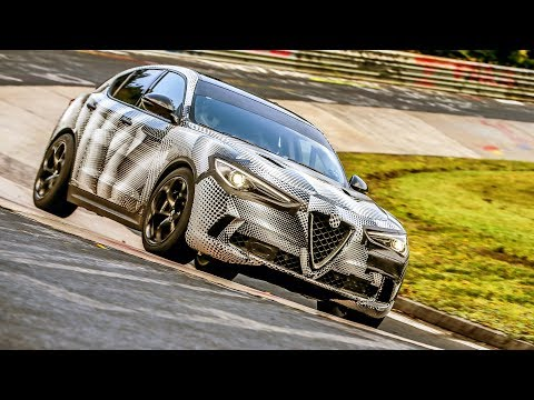 Alfa Romeo Stelvio Quadrifoglio (2018) The World Fastest SUV at Nu?rburgring Track