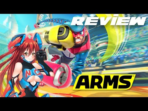 WTFF::: Arms Review - Virtual On Gone Nintendo