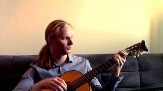Summer Wine by Nancy Sinatra & Lee Hazlewood - Michael C. Andersen Fingerstyle Guitar Solo