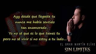 Al fin llegaste tu (letra) Martin Elias y Rolando Ochoa