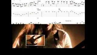 DragonForce - Through the fire and flames Solo (guitar tab)