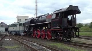 Převoz parní lokomotivy 475.179 z České Lípy do Děčína