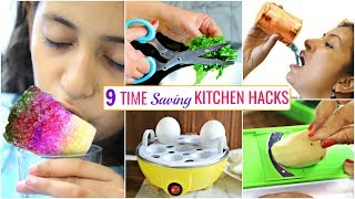 9 TIME Saving KITCHEN HACKS You Must Know .. | #Sale #Budget #CookWithNisha