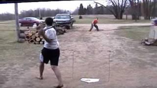80 MPH Blitzball Hit (96 MPH MLB)