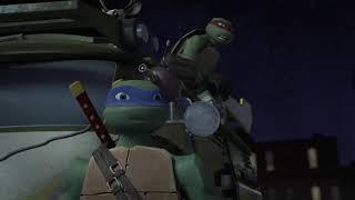 TMNT 2012 Turtles vs Ivan Steranko and Anton Zeck