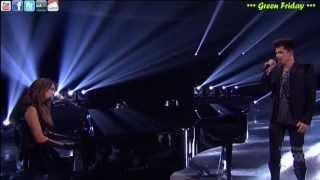 Angie Miller - Titanium ft Adam Lambert (Lyrics - Sub Español) [Live in American Idol]