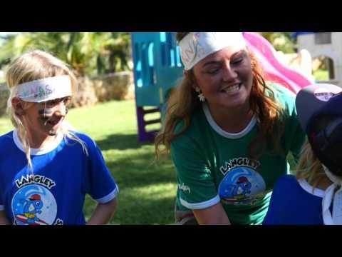 Langley Wavebreakers kids club at Resort Almirida Bay