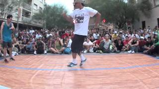 "BUBA vs SONY ""CUARTOS 1VS1 BBOY SOLO VOL.4"""
