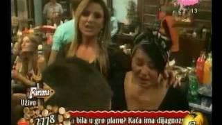 "Kaca & Zlata LIVE ( Farma 3 ) - "" Kcerko moja mila,lepotice mala "" - dan 51"