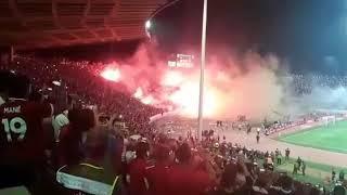 Ambiance de fête au complexe Mohammed V après la victoire du Wydad face à Al Ahly