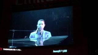 John Legend Like a Bridge Over Troubled Waters Live Dubai