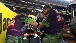 Monster Jam FS1 Championship Series - Atlanta - Adam Anderson Interview