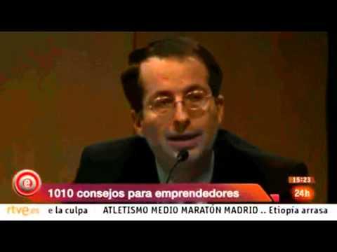 Javier Fernández Aguado en el programa Emprende de TVE