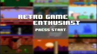Retro Gaming intro