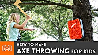 How to Make Axe Throwing For Kids