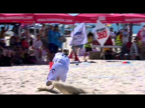 Video Thumbnail: 2015 World Championships of Beach Ultimate, Men's Gold Medal Game: USA vs. Great Britain