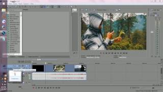 Sony vegas pro 11, Color Corection Orange and Teal