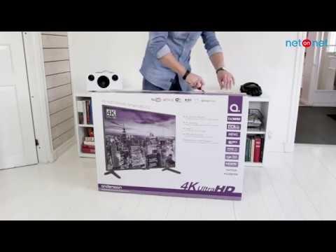 """NetOnNet unboxing: Andersson LED43UHD620 43"""" 4K-TV med HDR og Dolby Vision"""