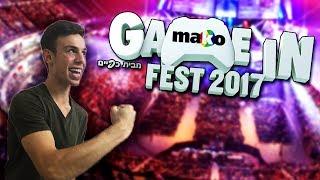 אירוע הגיימינג של השנה מגיע !! - פסטיבל גיים אין מקו פסט - סוכות 2017 Game in Mako Fest