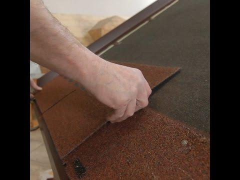 ColemaNávod - Kompletní návod instalace asfaltového šindele včetně závětrných lišt a okapního plechu.