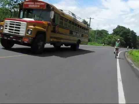 Down hill Bike Riding in Nicaragua
