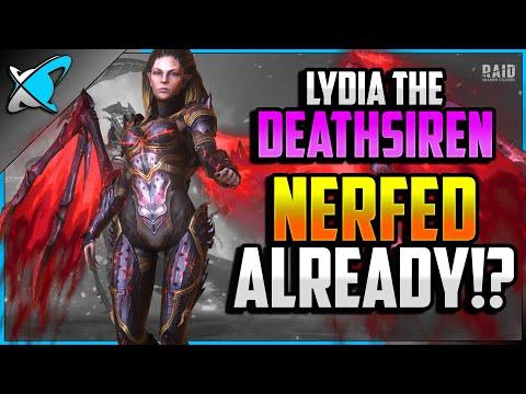 LYDIA...NERFED ALREADY!? | 540 Gems Giveaway | Vergumkaar Fusion Update | RAID: Shadow Legends