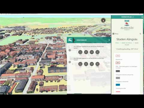 Digital översiktsplan Alingsås kommun - instruktionsfilm version 2