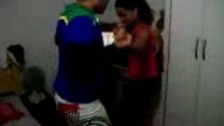 Victor Mescouto & Ingrid dançando [A Deus eu peço]