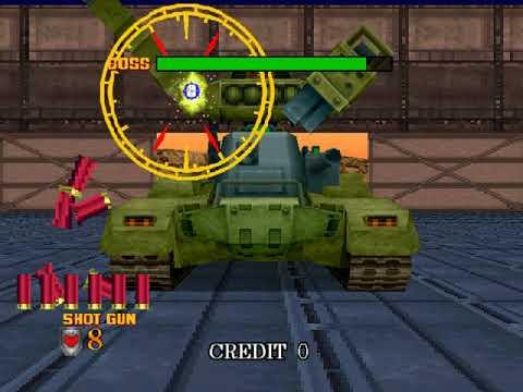 Virtua Cop 2 (a.k.a. Virtua Squad 2) (AM R&D Dept. #2) (Windows) [1997] [PC Longplay]