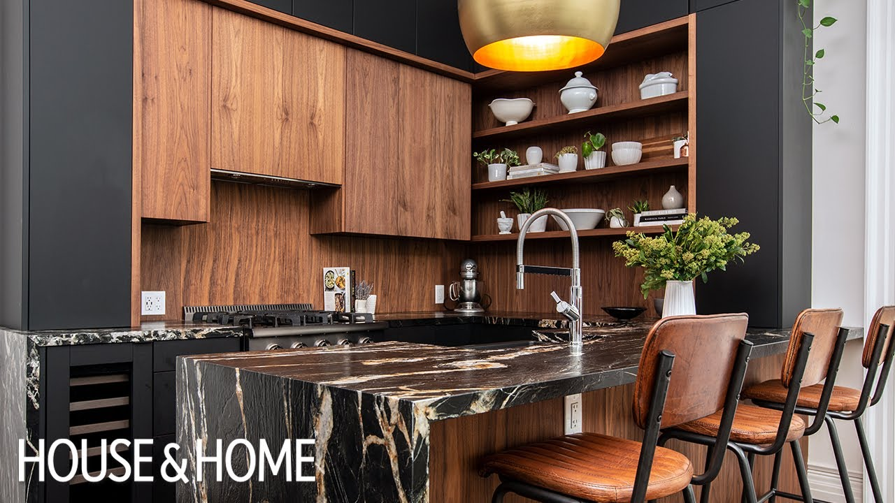 Kitchen Makeover: A Century Home Turns Contemporary