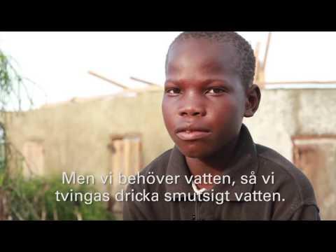 Jeremie, 13 år, berättar om när orkanen Matthew slog till mot Haiti