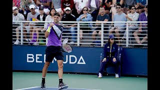 Corentin Moutet vs. David Goffin | US Open 2019 R1 Highlights
