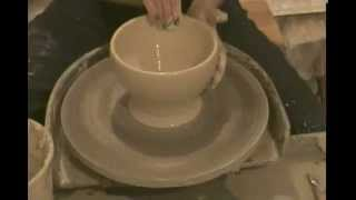 Super Fast Pottery - Wheel Thrown Bowl & Vase