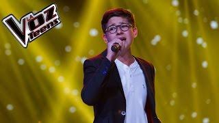 Simón canta 'Noviembre sin ti' | Audiciones a ciegas | La Voz Teens Colombia 2016