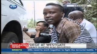 Live Exchange of fire at Westgate Shopping Mall -  Exclusive