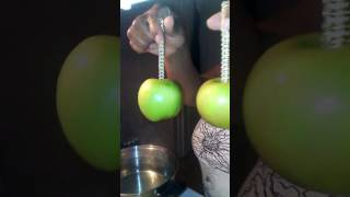 Cleaning your Apples for Candy Apples/ Prep ur apples