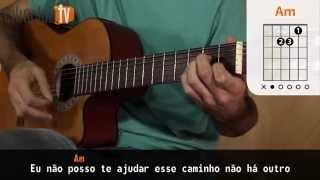 Videoaula Acima do Sol (aula de violão simplificada)