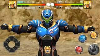 Satria Harimau Torga Biru di BIMA-X Mobile Game width=