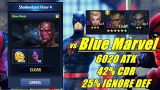 ANDAR 4 - Blue Marvel / Shadowland Marvel Future Fight