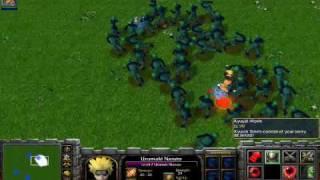 Naruto Spells  war3 demonstration
