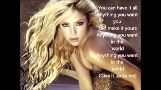 Shakira 'Give it up to Me' - Lyrics