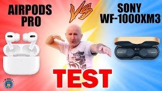 Vidéo-Test : TEST : APPLE AIRPODS PRO vs SONY WF-1000 XM3 !