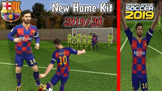 How to import barcelona team kit and logo in dls 19 videos