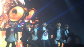 150731 BTS - War of Hormone (The Red Bullet in Brazil)