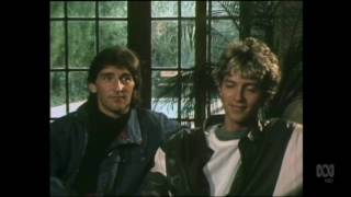 Countdown (Australia)- Molly Meldrum Interviews Dire Straits- March 27, 1983- Part 2