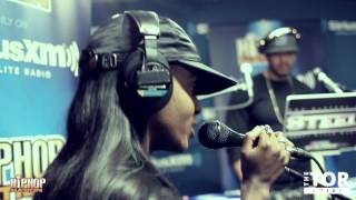 """Angel Haze Performs """"D-Day"""" and """"Babe Ruthless"""" Live on Hip Hop Nation"""