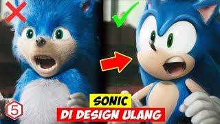 Mengerikan Di Film, Tampang Sonic The Hedgehog DiPermak Ulang Karna Di Hujat Habis-Habisan