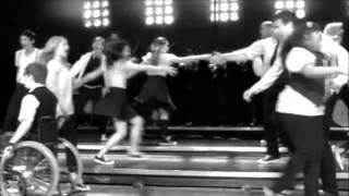 Glee Keep Holding On (Rachel, Finn, Quinn, Puck)